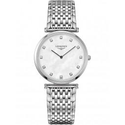 Longines La Grande Classique Diamond Set Mother of Pearl Bracelet Watch L47094886