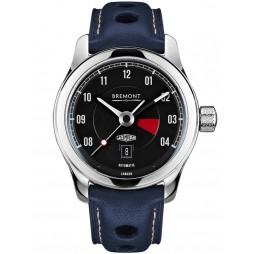Bremont JAGUAR MKIII Black Dial Strap Watch BJ-III/BK