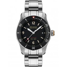 Bremont SUPERMARINE S300 Black Bracelet Watch S300/BK/BR