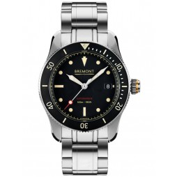 Bremont SUPERMARINE S301 Black Bracelet Watch S301/BK/BR