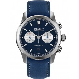 Bremont ALT1-C CLASSIC Blue Leather Strap Watch ALT1-C/BL