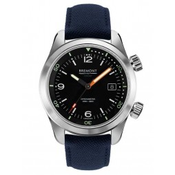 Bremont ARMED FORCES- ARGONAUT Blue Strap Watch ARGONAUT