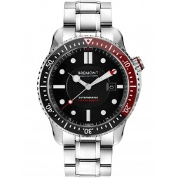 Bremont Black Bracelet Watch S2000/RED-BR
