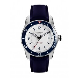 Bremont SUPERMARINE S300 Blue Rubber Strap Watch S300/WH