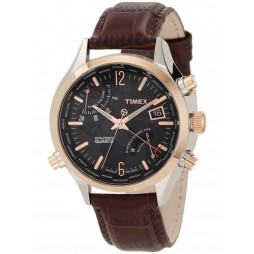 Timex Intelligent Quartz Mens World Time Watch T2N942