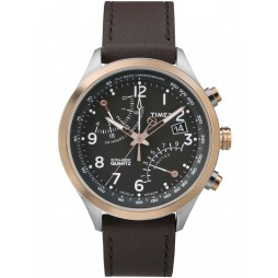 Timex Intelligent Quartz Mens Brown Watch TW2P73400
