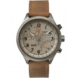 Timex Intelligent Quartz Mens Brown Watch TW2P78900