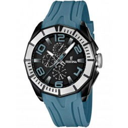 Festina Mens Blue Strap Watch F16670-4