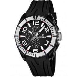 Festina Mens Rubber Strap Watch F16670-8