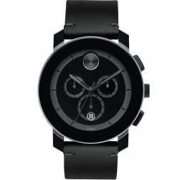 Movado Mens Bold Black Watch 3600337