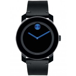 Movado Mens Bold Black Watch 3600307