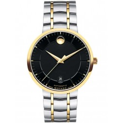 Movado Mens 1881 Automatic Black Watch 0606916