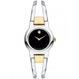 Movado Ladies Amorosa Black Watch 0606893