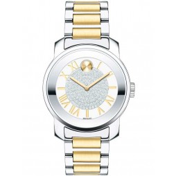 Movado Ladies Bold Two Colour Watch 3600256