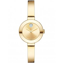 Movado Ladies Bold Gold Watch 3600285
