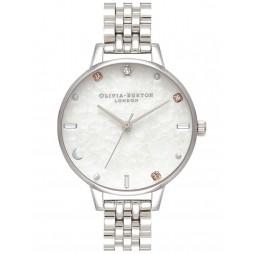 Olivia Burton Celestial Silver Bracelet Watch OB16GD30