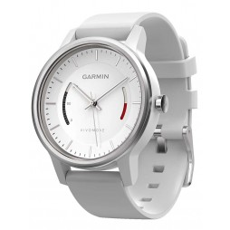 Garmin Vivomove Sport White Strap Watch 010-01597-01