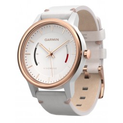 Garmin Vivomove Classic White Strap Watch 010-01597-11