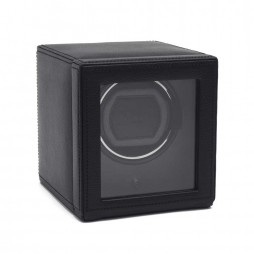 Wolf Cub With Cover Black Watch Winder 461103
