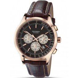 Sekonda Mens Chronograph Watch 3413