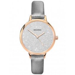 Sekonda Ladies Glitter Dial Watch 40024