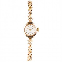 Pre-Owned 9ct Gold Ladies Rotary Incabloc Mechanical Watch 4118003
