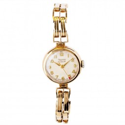 Pre-Owned 9ct Gold Ladies Vintage Rotary Watch 4118009
