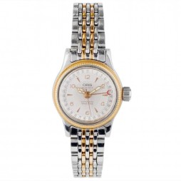 Pre-Owned Oris Ladies Big Crown Pointer Date Two Colour Bracelet Watch 4118017