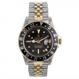 Pre-Owned Rolex Mens Oyster Perpetual GMT Master Watch 4118069
