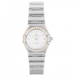 Pre-Owned Omega Ladies Constellation Diamond Set Watch 4118110
