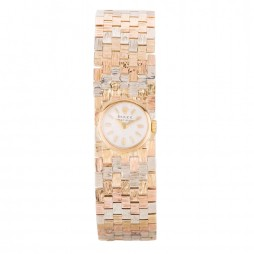 Pre-Owned Rolex Ladies 9ct Three Colour Gold Precision Watch 4411005