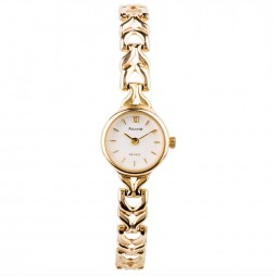 Pre-Owned Accurist Ladies 9ct Yellow Gold Watch 4118154