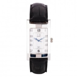 Pre-Owned Dunhill Mens Leather Strap Watch 4118196