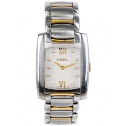 Pre-Owned Ebel Ladies Brasilia Diamond Set Watch 4181982