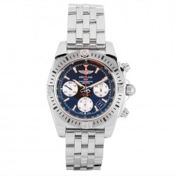 Pre-Owned Breitling Mens Chronomat 41 Airborne Watch AB01442J-BD26 378A