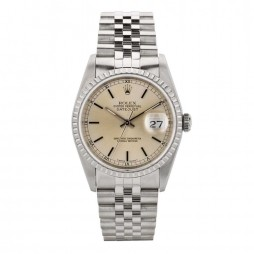 Rolex Mens Oyster Perpetual Datejust Watch 16220 - Year 1991