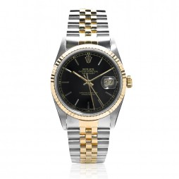 Pre-Owned Rolex Mens Oyster Perpetual Datejust Watch 16233-8067