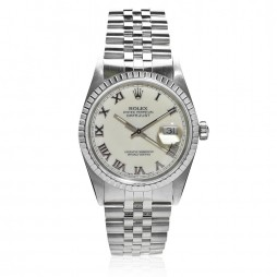 Pre-Owned Rolex Mens Oyster Perpetual Datejust Watch 16220-8079
