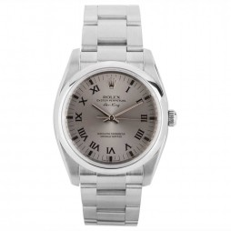 Pre-Owned Rolex Mens Oyster Perpetual Air King Watch 114200-8321