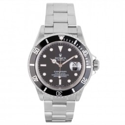 Pre-Owned Rolex Mens Oyster Perpetual Submariner Watch 16610-8526