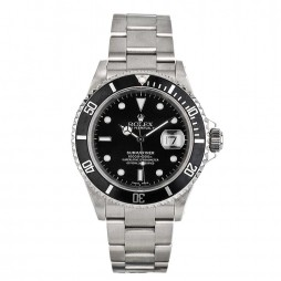 Pre-Owned Rolex Mens Submariner Bracelet Watch 16610-BQ30942