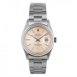 Pre-Owned Rolex Mens Oyster Perpetual Datejust Watch 16220-BQ32011
