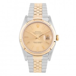 Pre-Owned Rolex Mens Oyster Perpetual Datejust Watch 16233(12495) - Year 1993