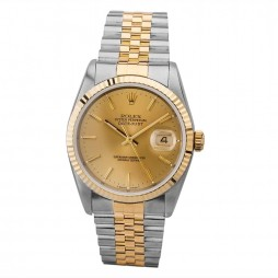 Pre-Owned Rolex Mens Oyster Perpetual Datejust Watch 16233(13361) - Year 1995
