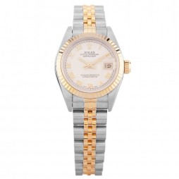Pre-Owned Rolex Ladies Oyster Perpetual Datejust Watch 69173(12133) - Year 1994