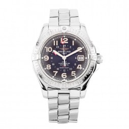 Pre-Owned Breitling Colt Black Bracelet Watch A32350 (LOT18)