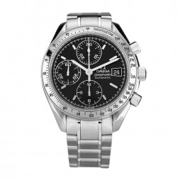 Pre-Owned OMEGA Speedmaster Black Bracelet Watch 3513.50.00 (BQ31773)