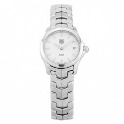 Pre-Owned TAG Heuer Link Silver Bracelet Watch WJF1410.BA0585