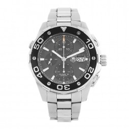 Pre-Owned TAG Heuer Aquaracer Black Bracelet Watch CAJ2110.BA0872