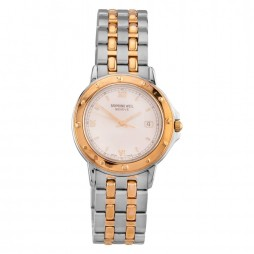 Pre-Owned Raymond Weil Two Tone Bracelet Watch 5560-STP-00328